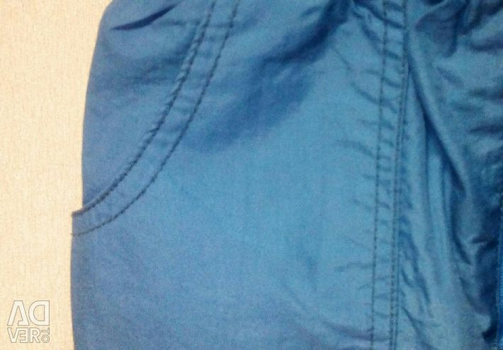 Trousers on a lining, growth 92-98.
