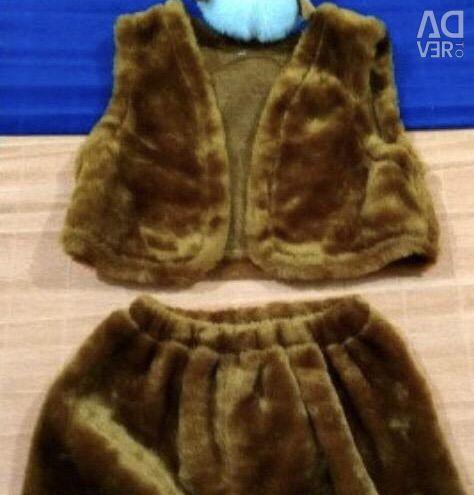 Costume de cai pentru 3-5 ani nou Batik