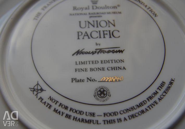 Συλλεκτική πλάκα Ένωσης Ειρηνικού Αγγλίας