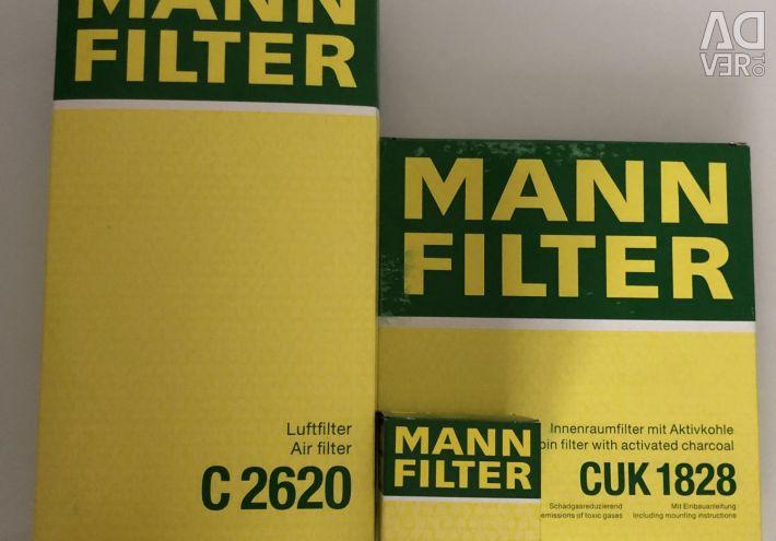 Filter kit Toyota Corolla 2001-2006