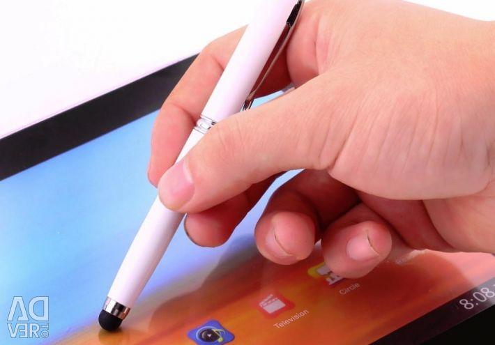 Pen laser pointer stylus flashlight 4in1.