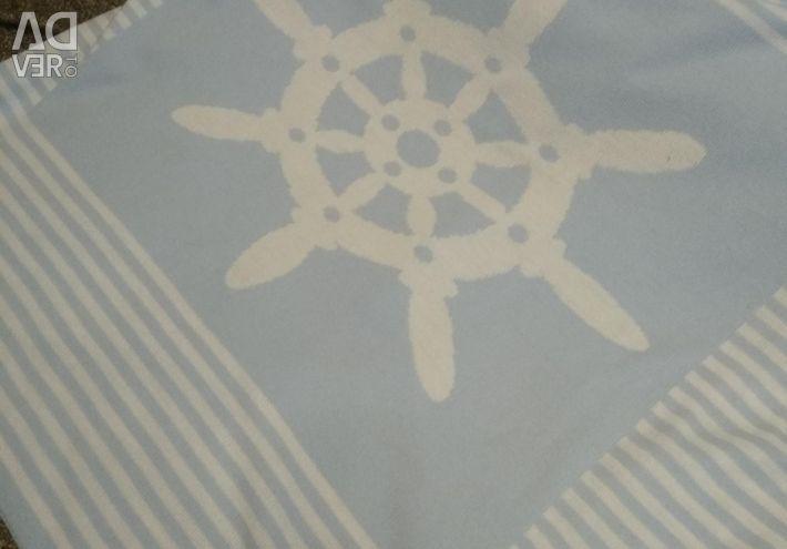 Örme battaniye 90 * 90 küçük dümen, Küçük Yıldız
