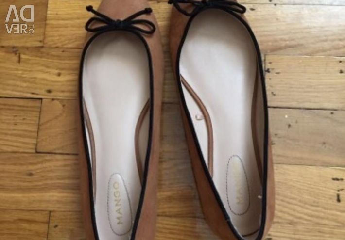 Pantofi din piele de căprioară