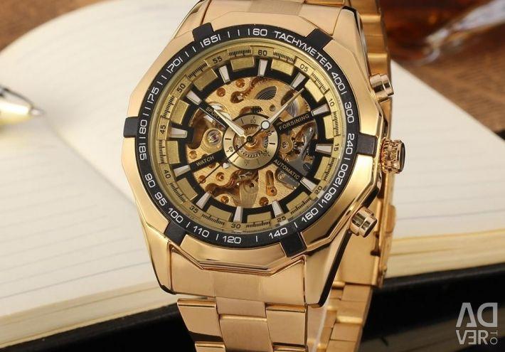 Мужские часы наручные winner.