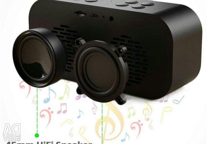 🔥 Bluetooth 5.0 Стерео Колонка Часы AEC BT501 5W