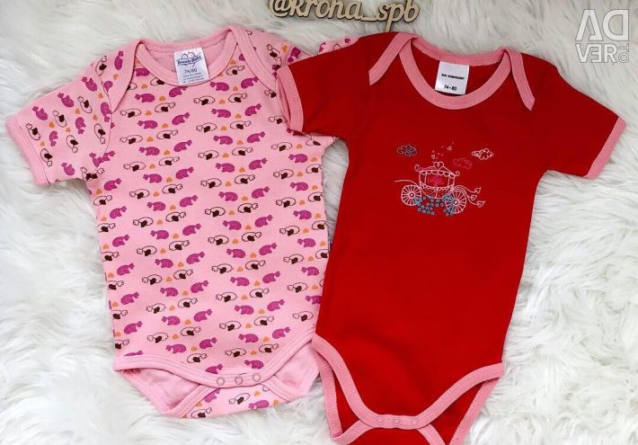 New bodysuits with short sleeves