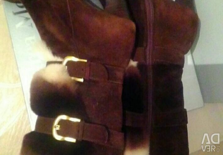 Winter boots (natural suede)