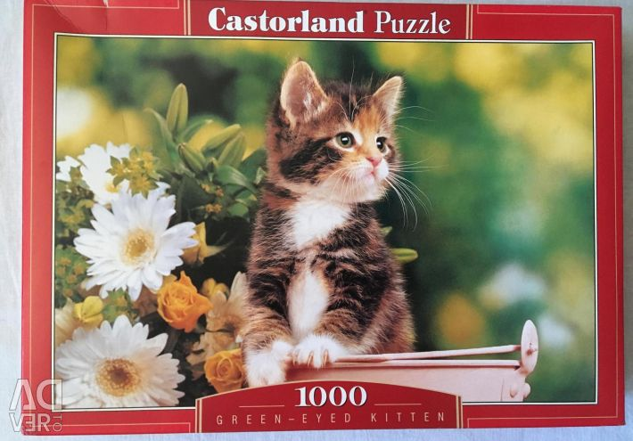 Puzzles 1000 items