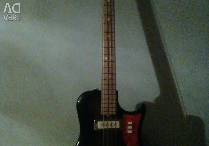 Electric guitar bass.