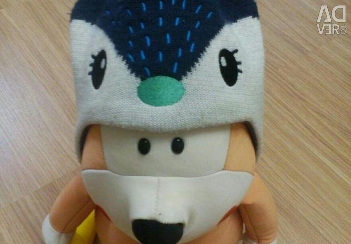 Ідеальна шапка lassie 9 міс - 1,5 року