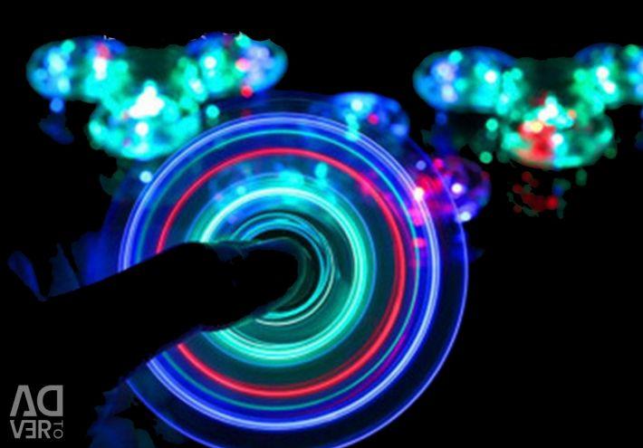 💚 Spinner transparent LED Luminous
