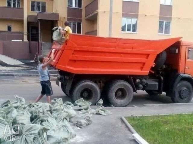 Garbage dump KAMAZ dump truck without intermediaries
