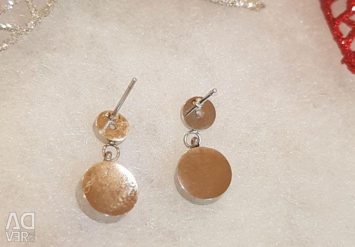 Σκουλαρίκια με ζιργκόν