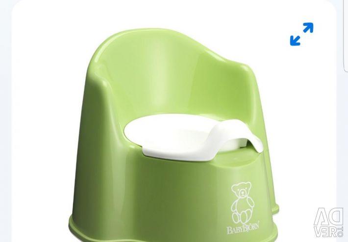 Children's potty