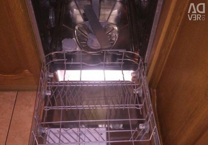 Πλυντήριο πιάτων ενσωματωμένο στο IKEA.