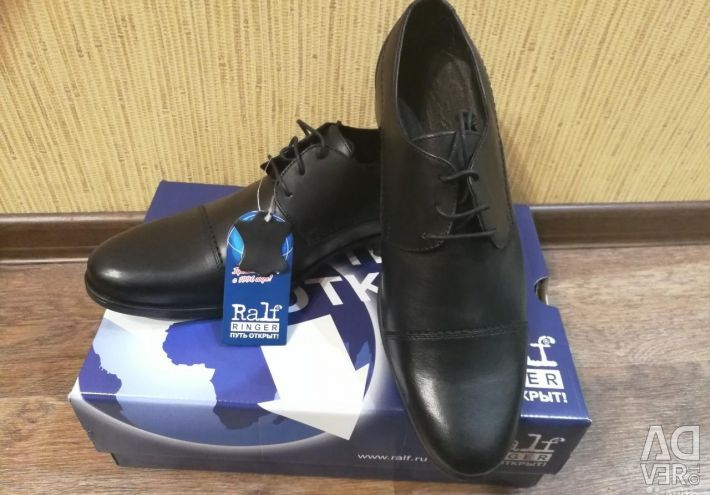 New shoes Ralph Ringer r. 43 natural leather