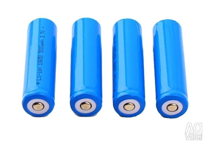 Li-Ion battery 3,8V 18650