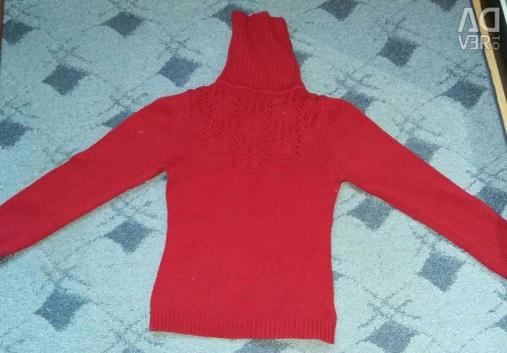 A warm sweater.