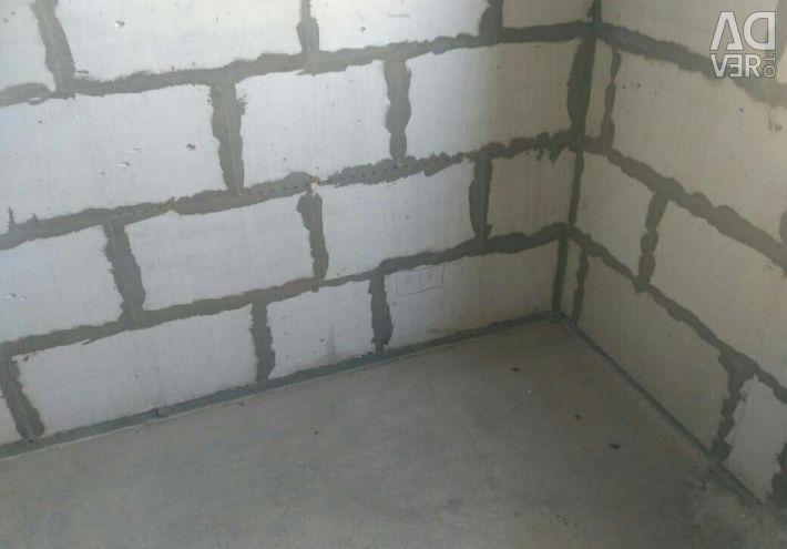 Daire, 1 oda, 18,7 m²
