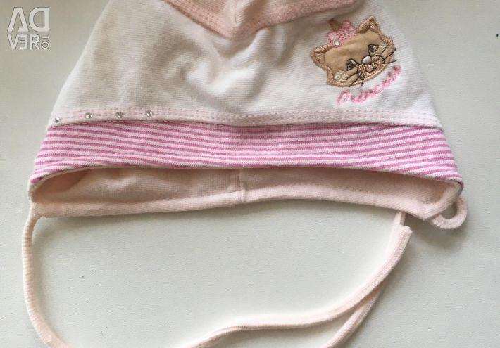 The cap is 3-12 months old! light summer demi season