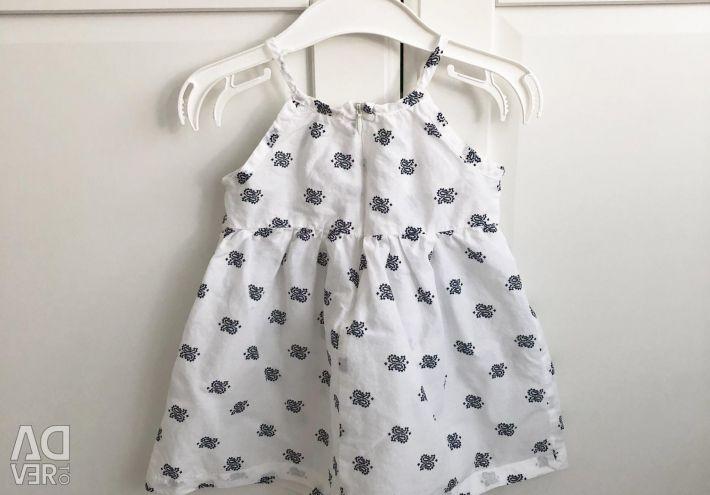 Yazlık elbise, 6-12 ay