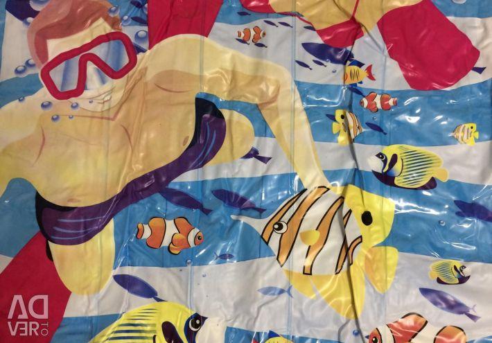 Large swimming mattress