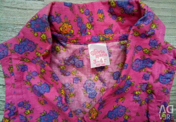 Μπλούζα χωρίς πουκάμισο Gloria jeans р.3-4γ.