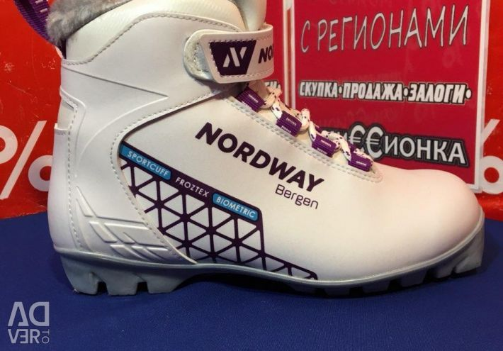Nordway bergen cross-country ski boots