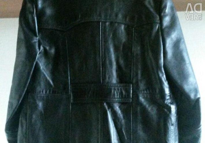 Jacket din piele de jachetă. Mongolia.