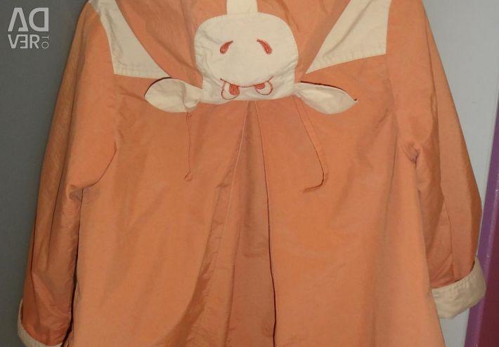 Pardoseala pentru bumbacul fetei, dimensiunea 110-116