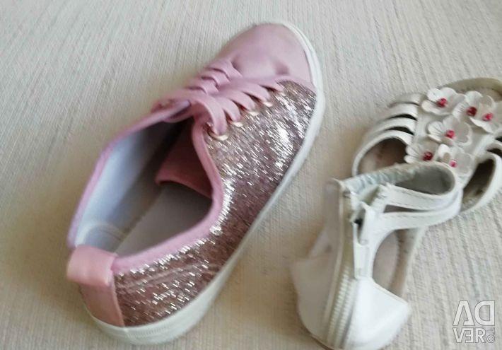 Σανδάλια πάνινα παπούτσια 29ramm Eur33razm