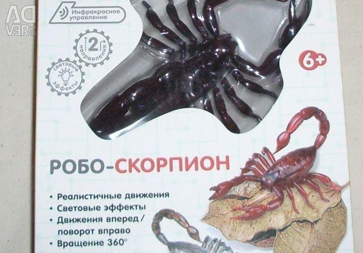 Scorpio on the radio with light
