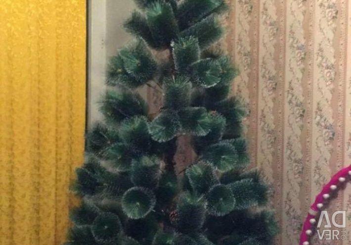 Artificial spruce snow fluffy 210cm