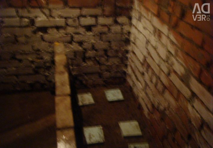 The cellar of 7.2 square meters. m