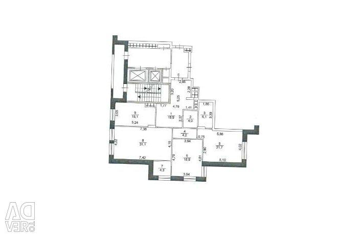 Apartment, 3 rooms, 125 m²