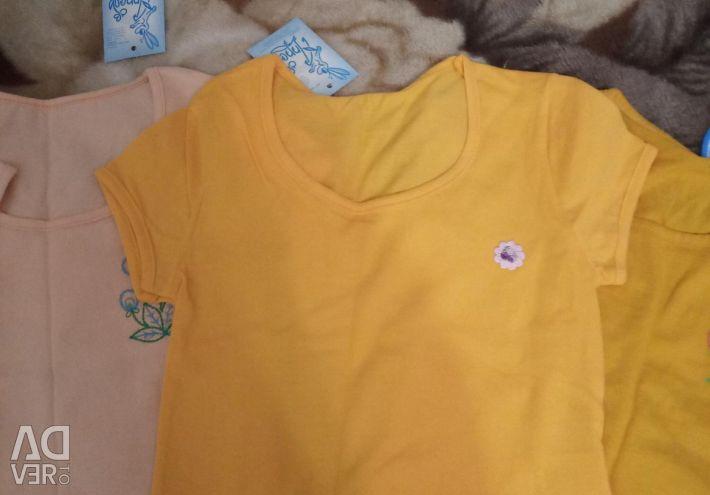 Tricouri pentru 4-5 ani noi