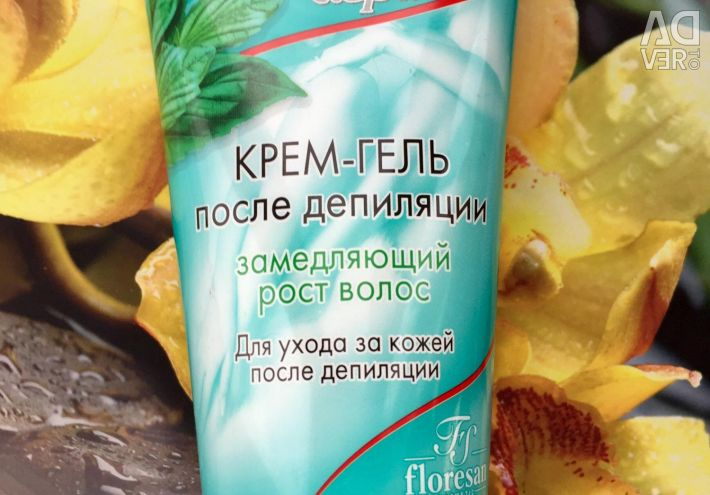 Cream-gel after depilation