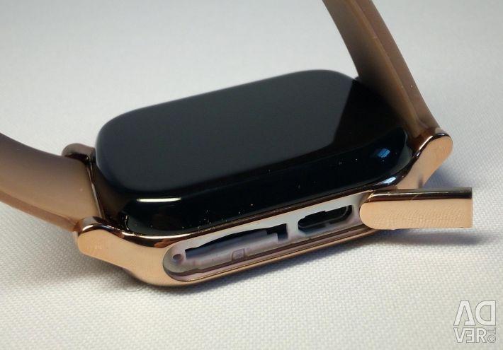 🔥 Smart Watch GPS İzle T58 Altın Yeni
