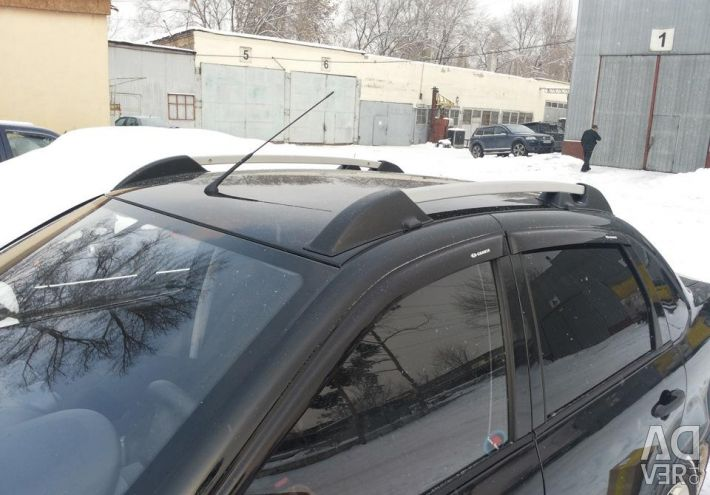 Roof rails for domestic cars