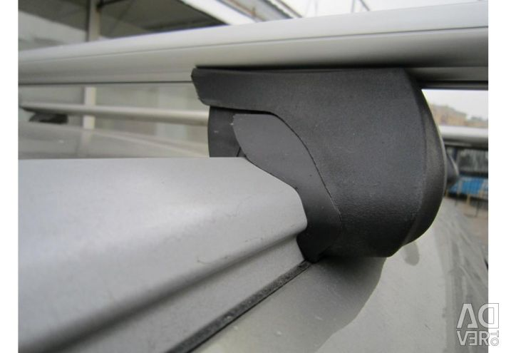 Trunk for integrated aerodynamic roof rails