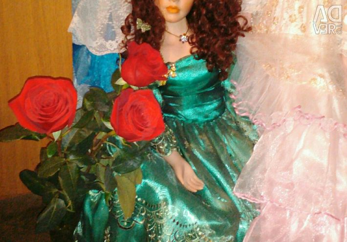 Κούκλα από πορσελάνη, 95 εκ