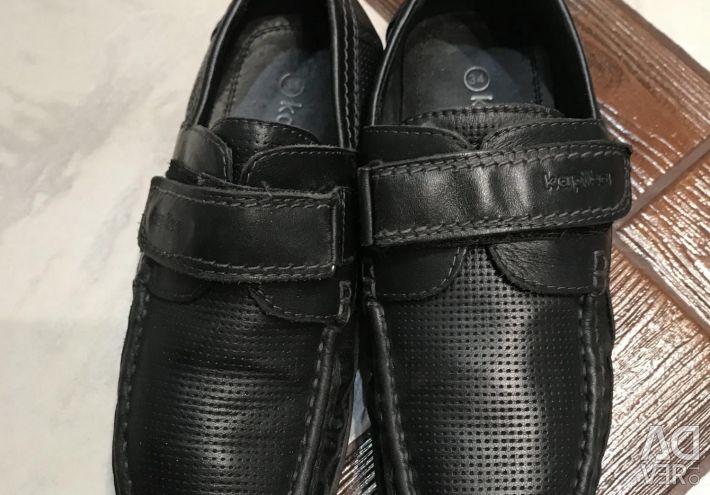 Μπότες φύσεις Δέρμα 34 r