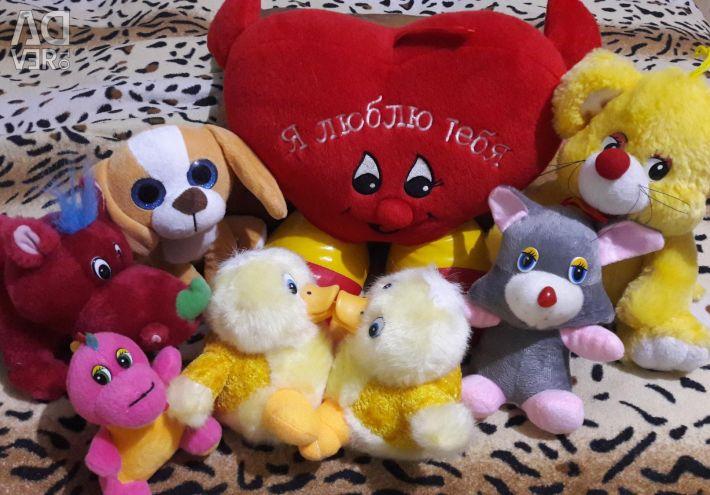 Jucării moi pentru toți 250₽