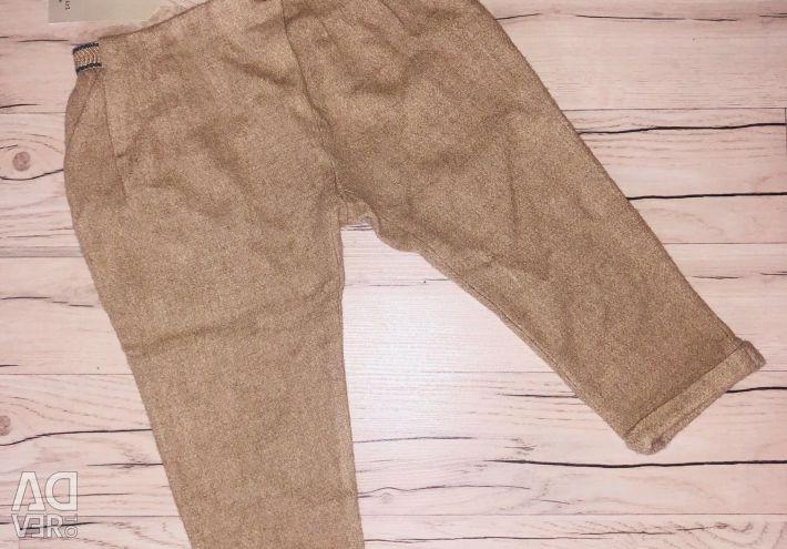 Pantaloni Zara pentru o fată de 3 ani