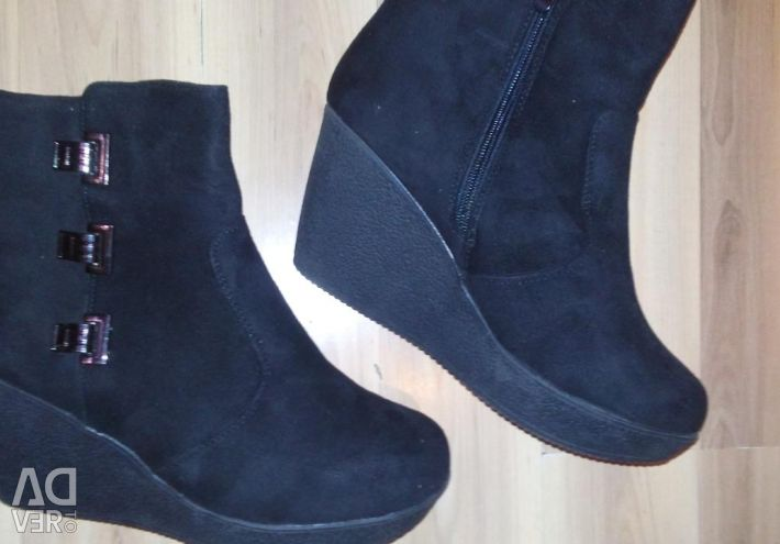 New Suede Winter Booties 38