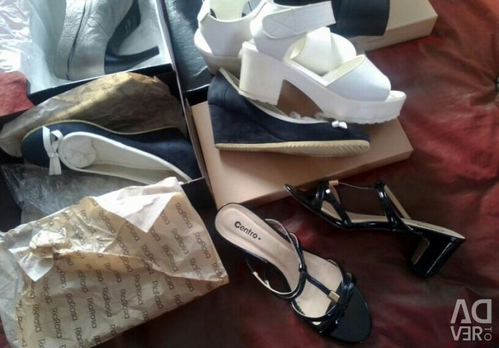 Shoes, ankle boots, sandals р.38 38,5