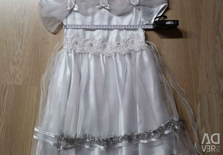 Kızlar için şenlikli elbise