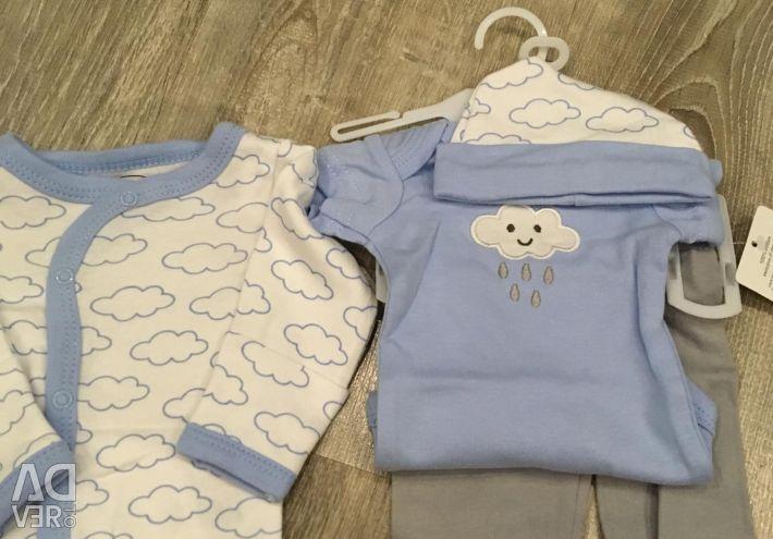 4-piece baby kits NEW