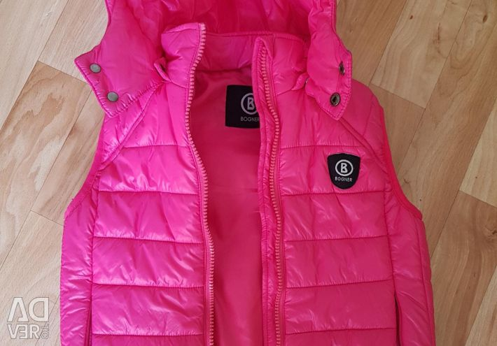 Vest on girl height 120
