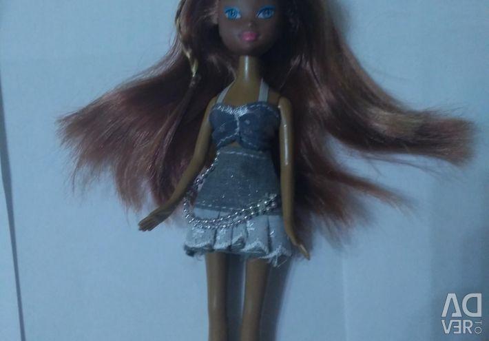 Doll dark-skinned